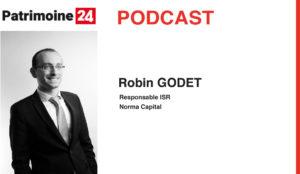 Robin GODET, notre Responsable ISR, au micro de Patrimoine 24
